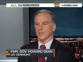howard dean defines a 'win' as getting people who don't obama to like obamacare