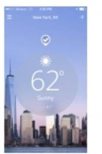 New App Design Redefines What It Means to Be a Weather Watcher – The Weather Channel App for iPhone