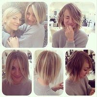 Kaley Cuoco channels Jennifer Lawrence as she goes for the chop with a cute bob- Pics