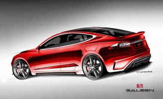 Saleen Automotive Plans Orange County–Aggro Tesla Model S